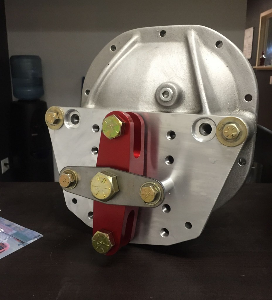 SN95 Watts Link Diff Cover