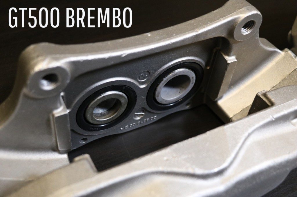 GT500 Brembo Piston Size