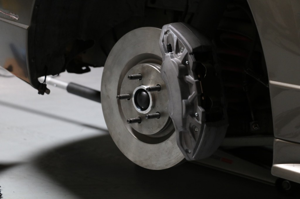 S550 14 Inch Brakes on SN95