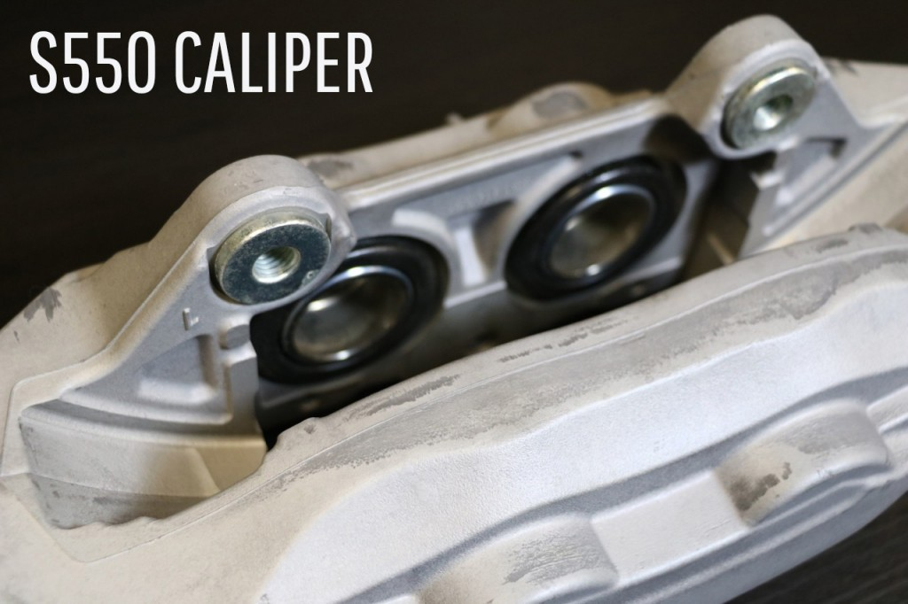 S550 Caliper Piston Size